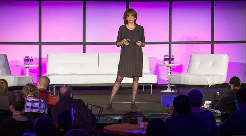 Denise Silber on MedX stage