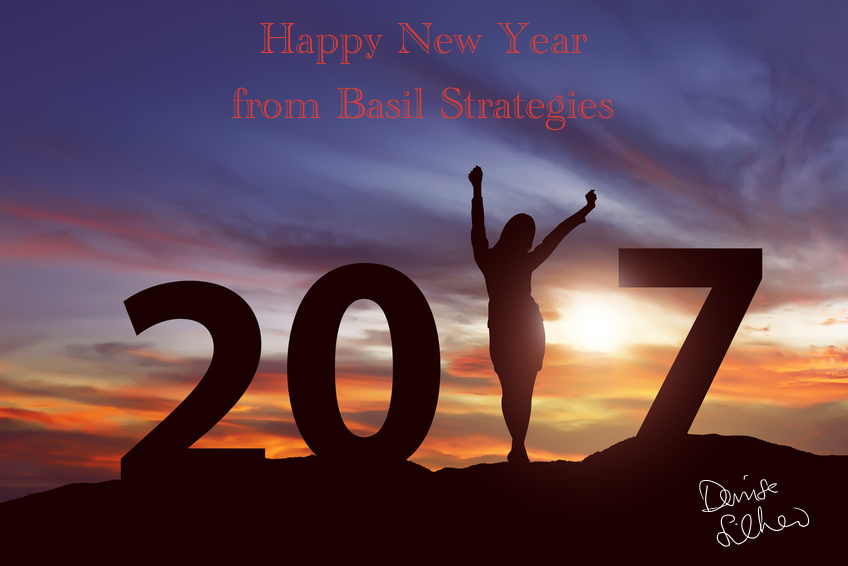 Happy New Year's Basil Strategies